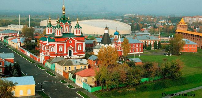 Успенский Брусенский монастырь Коломна