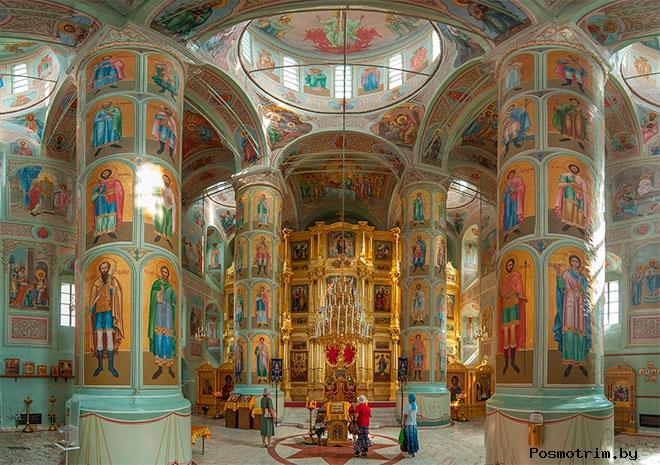 Интерьер Успенского собора в Коломне