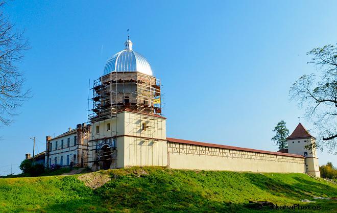 Замок в Любче архитектура Любчанского замка