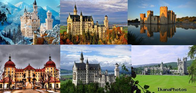 Замечательная подборка самых красивых замков мира