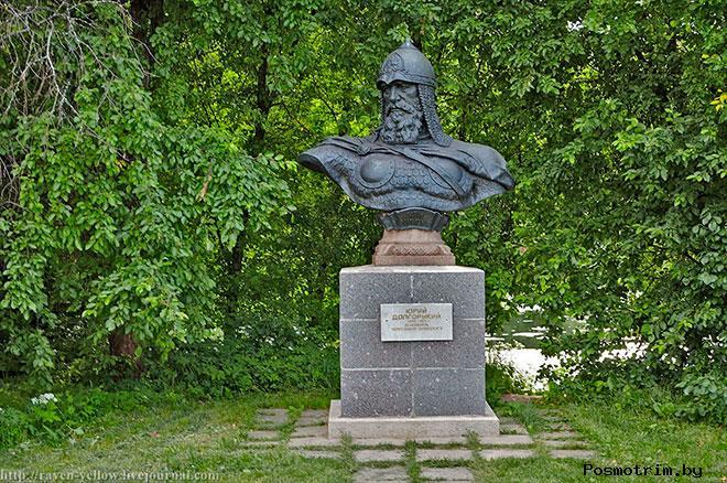 Памятник Юрию Долгорукому в Переславле Залесском