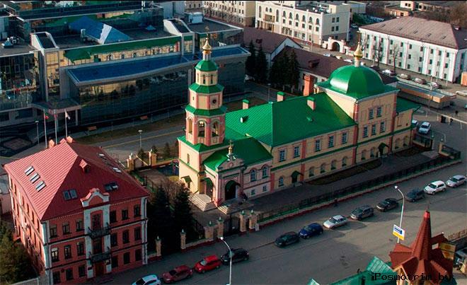 Храм Святого Духа в Казани график работы контакты как добраться расположение на карте