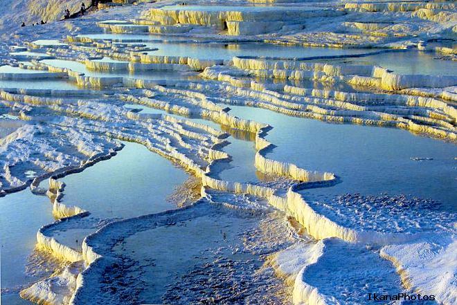Лечебные свойства воды в минеральных источниках Памуккале