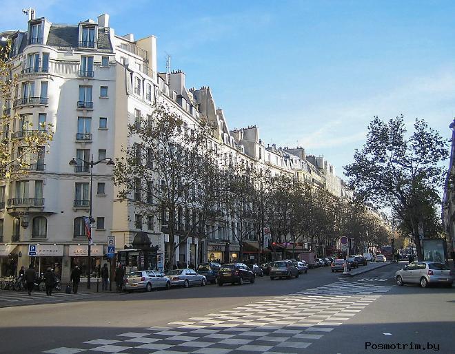 Большие бульвары Парижа