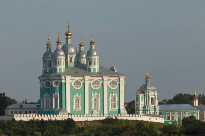 Архитектура Свято-Успенского кафедрального собора Смоленска