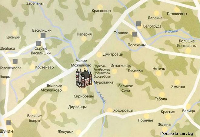 Храм в Мурованке расписание богослужений контакты как добраться расположение на карте