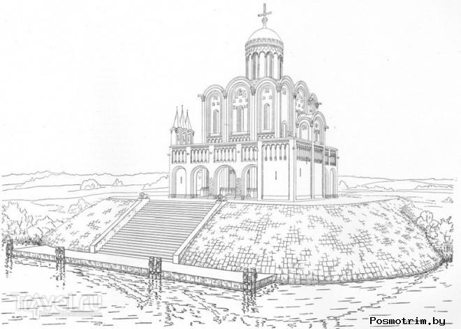 Первоначальный облик Церкви Покрова на Нерли
