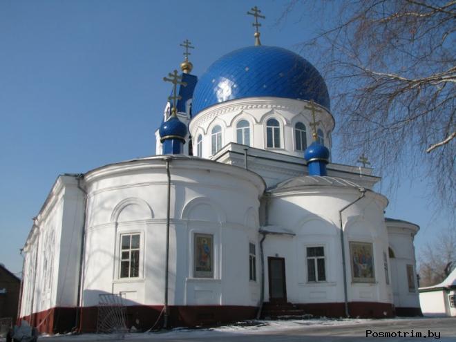 Троицкая церковь Томск