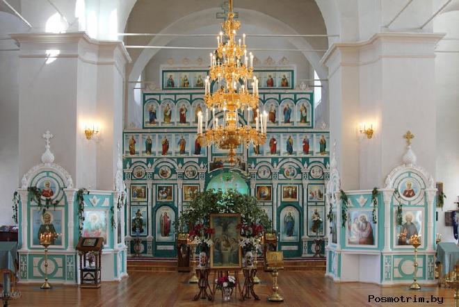 Внутри Троицкого собора Чаплыгина