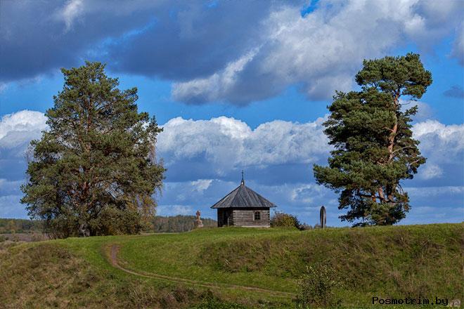 Савкина горка в Пушкинских горах