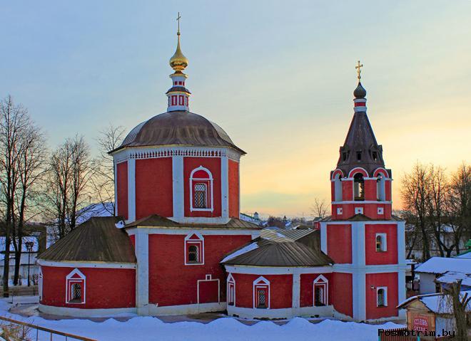 Церковь Успения Пресвятой Богородицы Суздальского кремля