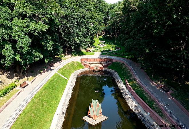 Парк Румянцевых Гомель