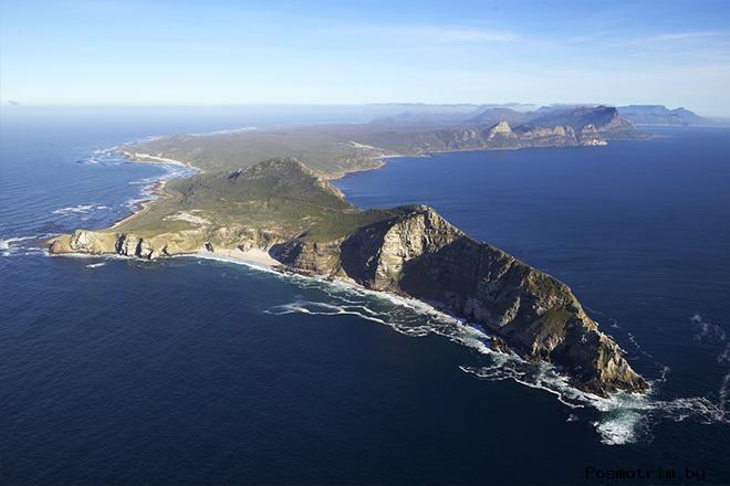 Самая южная точка Африки Мыс Доброй Надежды