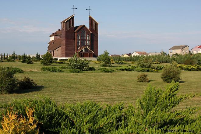 Костел святого Зигмунда Барановичи