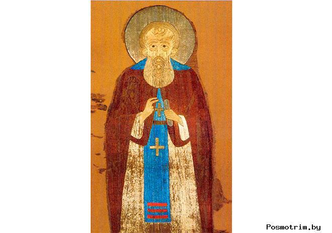 Преподобный Димитрий Прилуцкий вологодский чудотворец