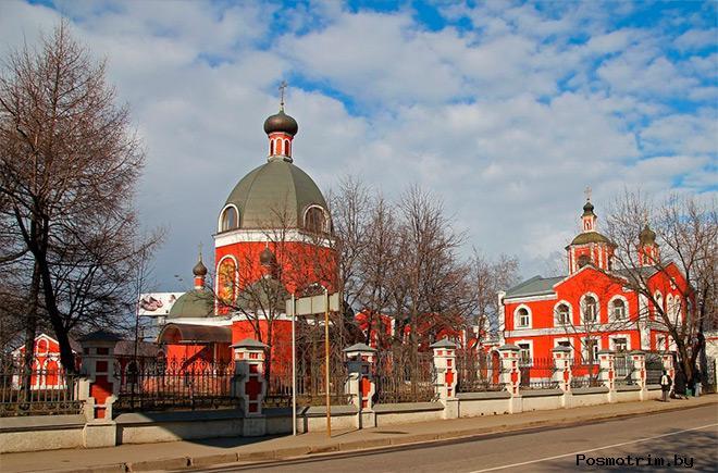 История храма Знамения Божьей Матери в Переяславской слободе