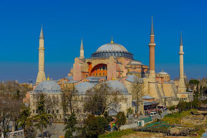 Преображение Собора Святой Софии в Мечеть Айя-София