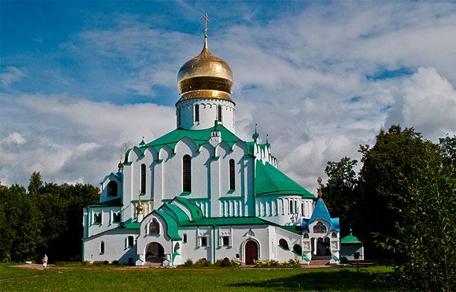 Феодоровский собор Пушкин Санкт-Петербург