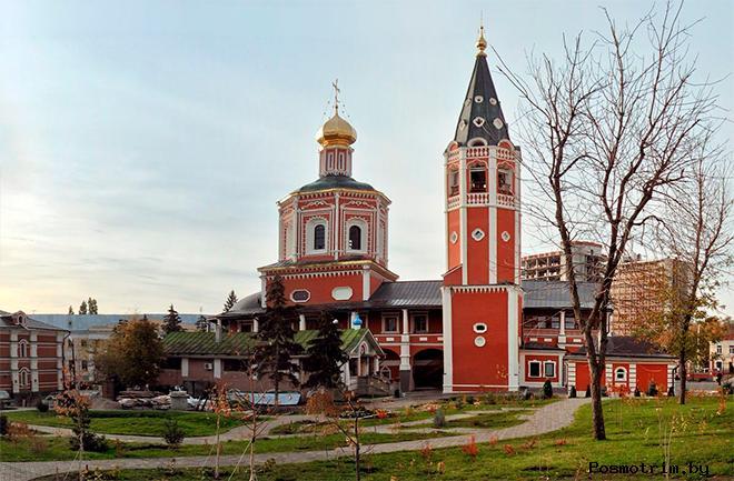 Строительство Троицкого собора в Саратове