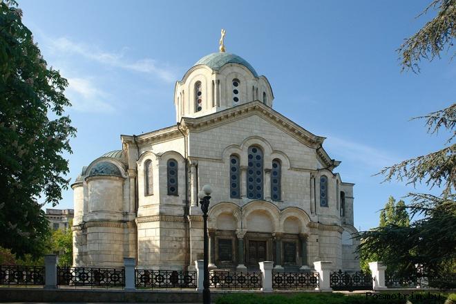 Владимирский Адмиралтейский собор Севастополя богослужения контакты как добраться расположение на карте