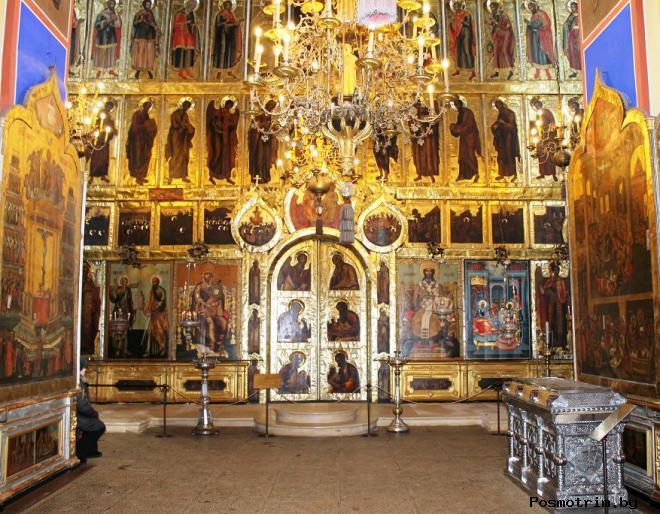 Интерьер и роспись Рождественского собора