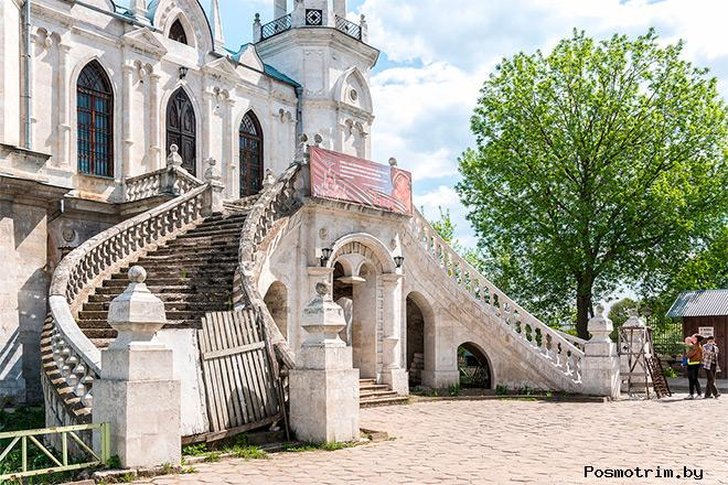 Строительство Владимирской церкви в Быково