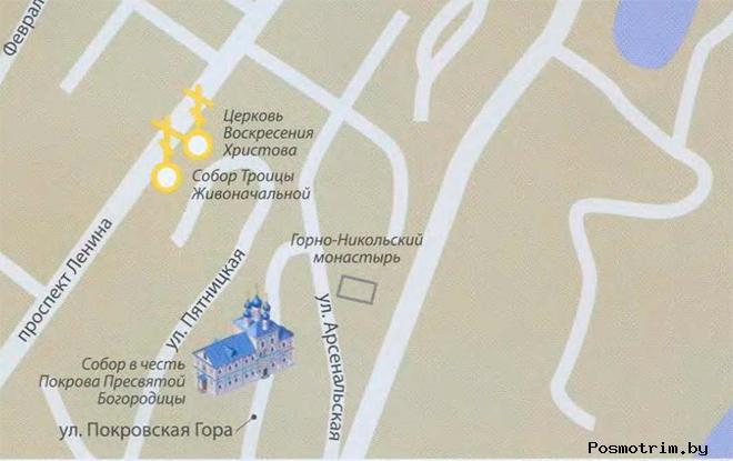 Покровский собор Брянска богослужения контакты как добраться расположение на карте