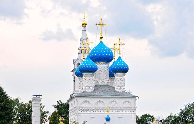 Строительство Никольского храма в Пушкино