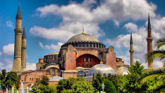 Мечеть Айя София - собор Святой Софии фото история храма