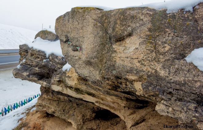 Ледниковый конгломерат - свидетель формирования ландшафта