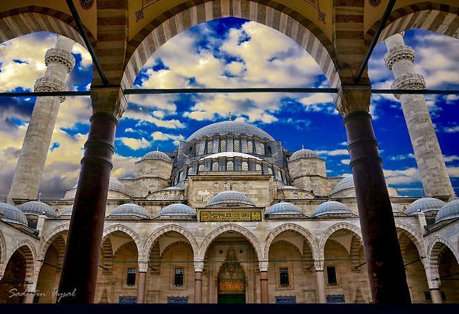 Легенда мечети султана Сулеймана Великолепного