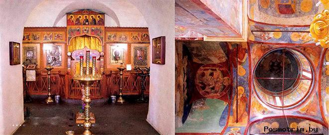 Спасо-Преображенская церковь Вяземы интерьер