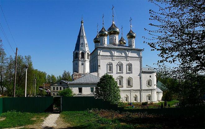 Благовещенский женский монастырь в Вязниках