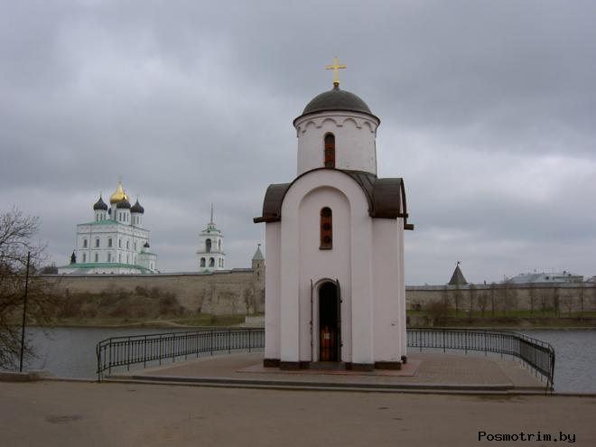 Часовня княгини Ольги Псков