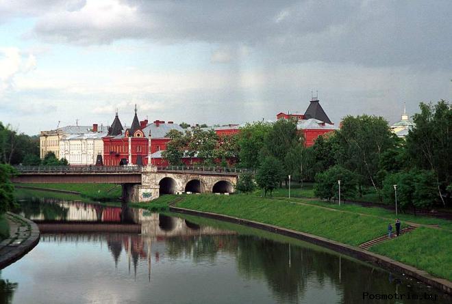 История города Орла орловской крепости