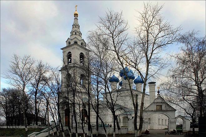 Храм Николая Чудотворца в Пушкино советское время