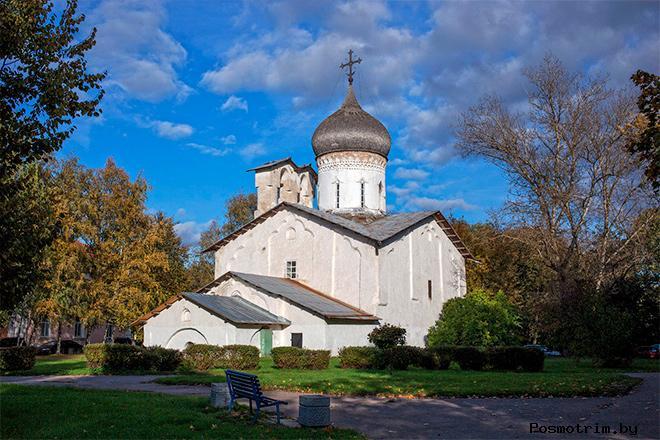Храм Николы со Усохи Псков