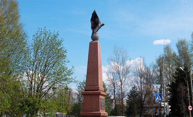 Памятник «Орел» Старая Русса (памятник вильманстрадцам)