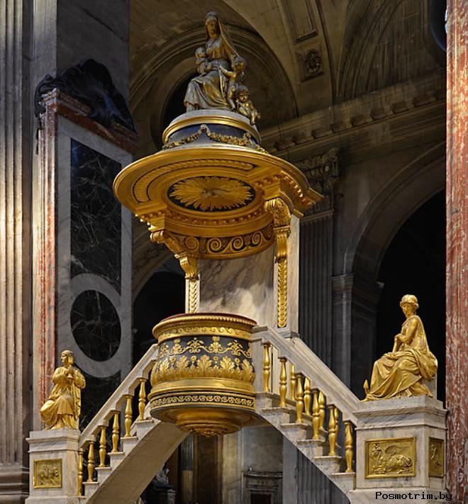 Интерьер церкви Сен-Сюльпис