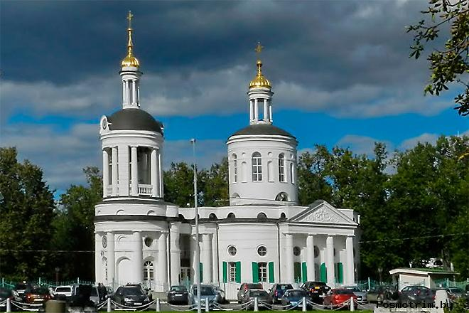 Храм Влахернской Божией Матери в Кузьминках