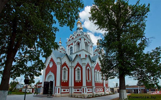 Строительство Казанского храма в Глебово