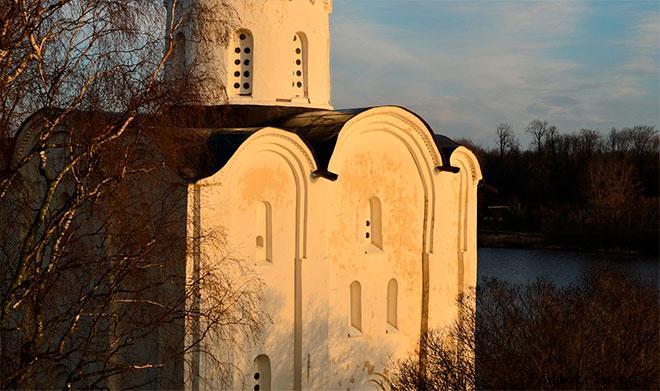 Архитектура Георгиевской церкви Старой Ладоги