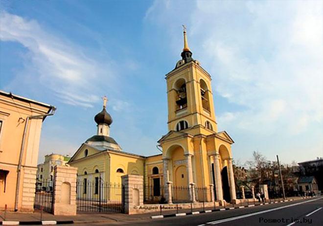 Церковь Успения Божией Матери в Казачьей слободе Москва