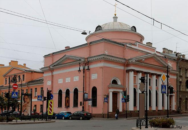 Скорбященская церковь Санкт-Петербург на Шпалерной улице