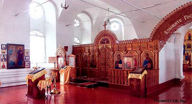 Внутри Спасо-Преображенского собора Шадринска