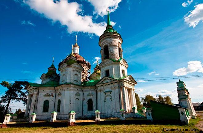 Быньги Храм Николая Чудотворца