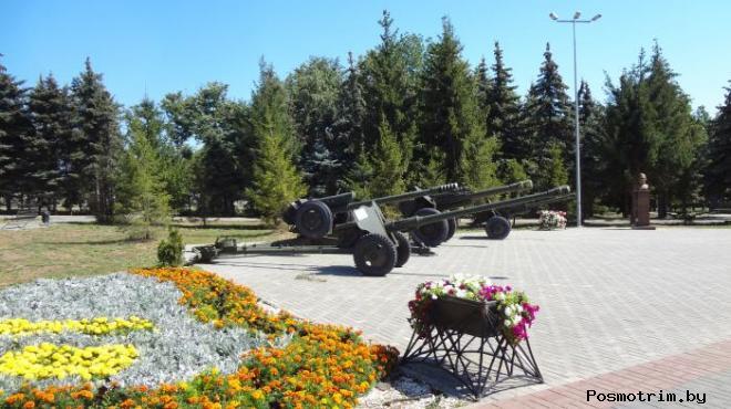 Лаишево парк Победы