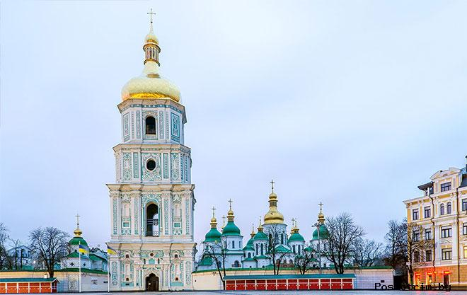 Колокольня Софийского собора Киев