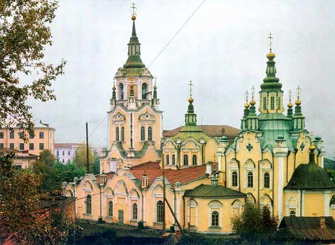 Знаменский собор Тюмени история