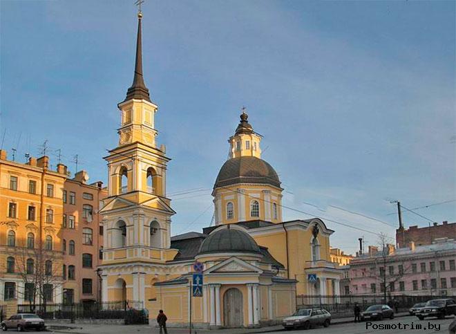 Архитектура церкви Симеона и Анны